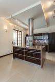 Classy house - kitchen interior Royalty Free Stock Image