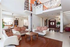 Classy house - mezzanine Royalty Free Stock Image