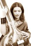 Classy Indian Singer stock photos