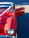Classy red car Stock Images