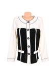 Classy,stylish blouse on a white. Royalty Free Stock Photo