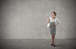 Classy woman Royalty Free Stock Photo