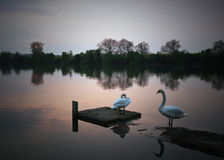 Clattercote Reservoir Royalty Free Stock Photos