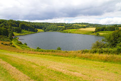 Clatworthy Reservoir in Somerset Stock Photography