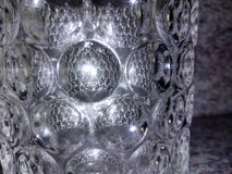 claud kristal en verre Image libre de droits