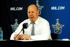 Claude Julien Stock Image