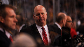 Claude Julien Boston Bruins Head Coach Royalty Free Stock Image