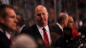 Claude Julien Boston Bruins Head Coach. Boston Bruins head coach Claude Julien Royalty Free Stock Image