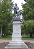 Claude Louis Berthollet staty i Annecy, Frankrike Arkivbilder