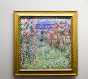 Claude Monet - at Albertina museum in Vienna. Oscar-Claude Monet 14 November 1840 – 5 December 1926 was a founder of French Impressionist painting, and the Stock Photo