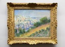 Claude Monet - bij het museum van Albertina in Wenen royalty-vrije stock fotografie