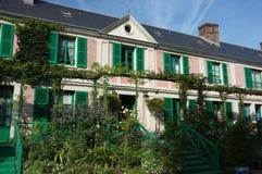 Claude Monet dom Obrazy Royalty Free