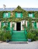 Claude Monet garden and house near Paris Stock Photos