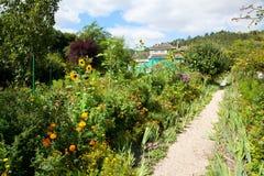 Claude Monet garden and house near Paris. France Royalty Free Stock Photography