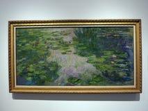 Claude Monet, l'eau Lillies, 1917/1919 photo stock
