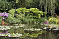 Claude Monet's home in Giverny, France Royalty Free Stock Image