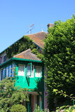 Claude Monet`s house. House and garden of Claude Monet`s in Giverny, France stock photo