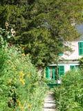 Claude Monets Garten Lizenzfreie Stockbilder
