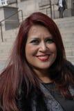 Claudia irlanda maya_medican press delegate Royalty Free Stock Photos