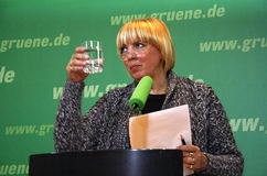 claudia roth Royaltyfria Foton