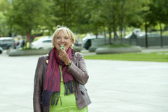 Claudia Roth, chairwoman of the Green Paty, German Royalty Free Stock Photos