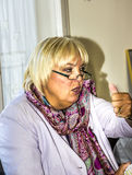 Claudia Roth Stock Photo
