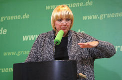 Claudia Roth Royalty Free Stock Photography