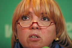 Claudia Roth Royalty Free Stock Image