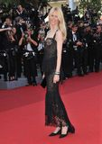 Claudia Schiffer. At the premiere of 'This Must Be The Place' in competition at the 64th Festival de Cannes. May 20, 2011  Cannes, France Picture: Paul Smith / Royalty Free Stock Photo