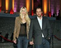 Claudia Schiffer i Matthew Vaughn obraz royalty free