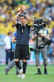 Claudio Bravo Coupe du Monde 2014 Imagem de Stock Royalty Free