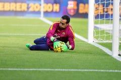 Claudio Bravo of FC Barcelona Stock Image