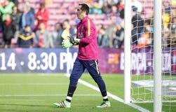 Claudio Bravo of FC Barcelona Stock Images