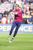 Claudio Bravo of FC Barcelona Royalty Free Stock Photos