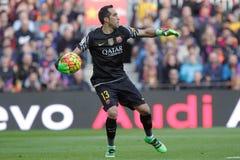 Claudio Bravo of FC Barcelona Stock Photos