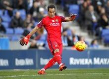 Claudio Bravo of FC Barcelona Stock Photography