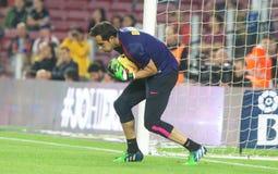 CLAUDIO-BRAVO FC BARCELONE Stockfoto