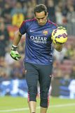CLAUDIO BRAVO  FC BARCELONE Stock Photo