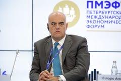 Claudio Descalzi Lizenzfreie Stockbilder