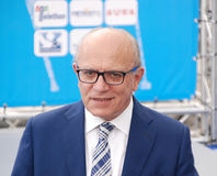 Claudio Gubitosi, Direttore Del Giffoni Film Festival Immagine Stock Libera da Diritti