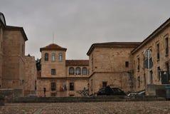 Claudio Moyano Square Zamora Spanien arkivfoton