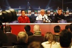 Claudio Ranieri, Trainer von ALS Rom Stockbilder