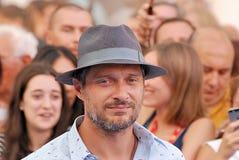 Claudio Santamaria al Giffoni Ekranowy festiwal 2016 Obraz Royalty Free