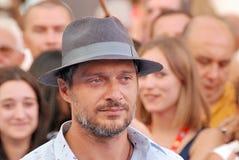 Claudio Santamaria al Giffoni Ekranowy festiwal 2016 Fotografia Stock