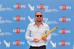 Claudio Santamaria al Giffoni Ekranowy festiwal 2016 Zdjęcie Stock