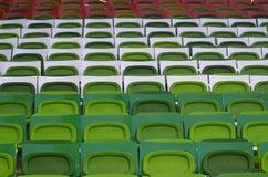 Groupama Arena football stadium seats Royalty Free Stock Images