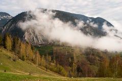 Clauds delle montagne Immagine Stock
