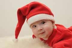 Claus λίγο santa Στοκ εικόνες με δικαίωμα ελεύθερης χρήσης