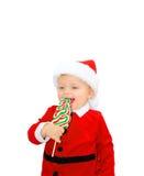 Claus χαριτωμένος λίγο santa Στοκ Εικόνες