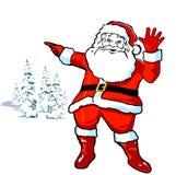 claus весёлый santa бесплатная иллюстрация